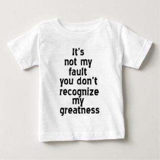 Camiseta del niño de la grandeza playeras
