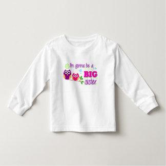¡Camiseta del niño de la hermana grande! Poleras
