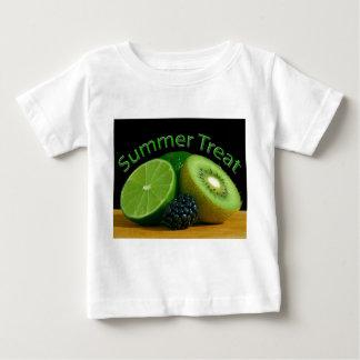 Camiseta del niño de la invitación del verano de playeras