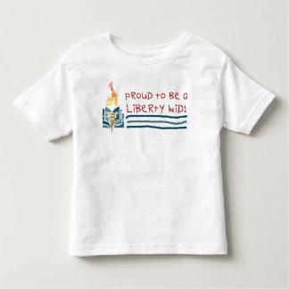 Camiseta del niño de la libertad playera de niño