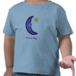 Camiseta del niño de la luna y de la estrella