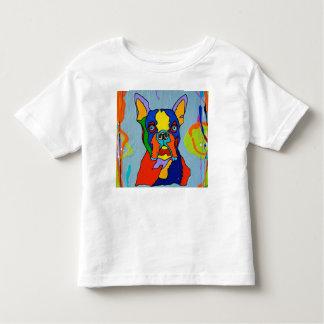Camiseta del niño de la marimacho