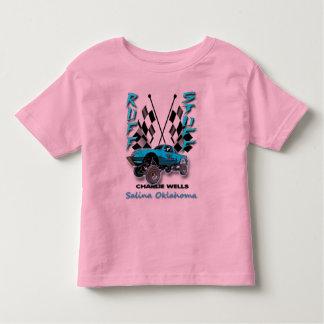 Camiseta del niño de la materia del acerino playera de niño