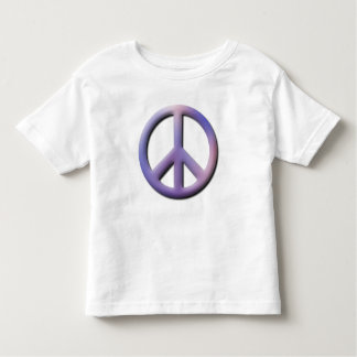 Camiseta del niño de la paz playera