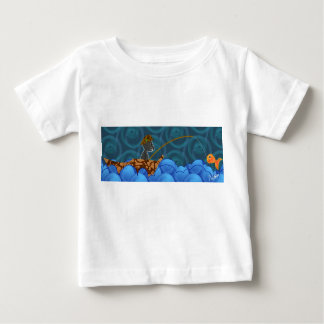 Camiseta del niño de la pesca del gato