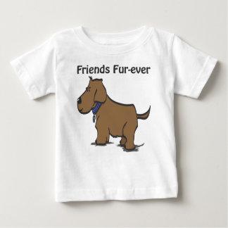 Camiseta del niño de la Piel-nunca de los amigos Remeras
