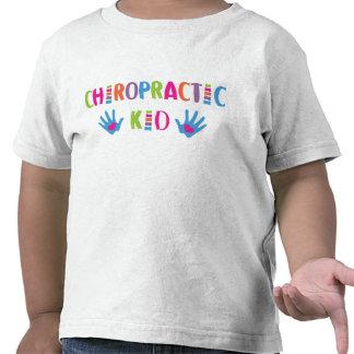 Camiseta del niño de la quiropráctica