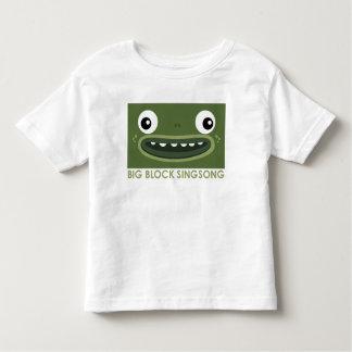 Camiseta del niño de la rana de BBSS