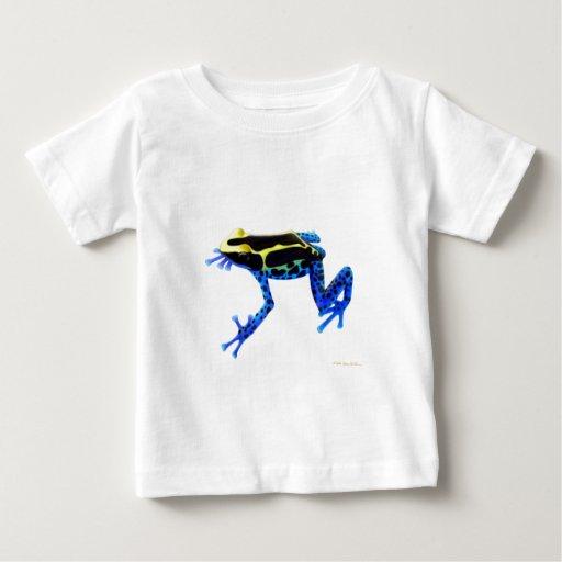 Camiseta del niño de la rana de la flecha remeras