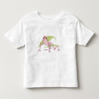 Camiseta del niño de la rana de Magicked Playera