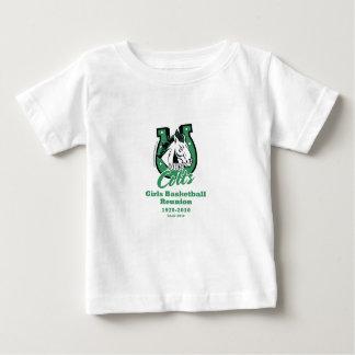 Camiseta del niño de la reunión de los potros de playera para bebé