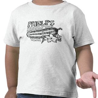 Camiseta del niño de la reunión de Phelps