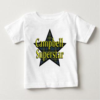 Camiseta del niño de la superestrella de Campbell