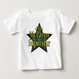 Camiseta del niño de la superestrella de McLaren