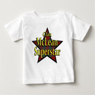 Camiseta del niño de la superestrella de McLean Playeras