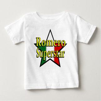 Camiseta del niño de la superestrella de Romero Camisas