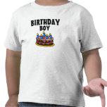 Camiseta del niño de la torta del muchacho del cum