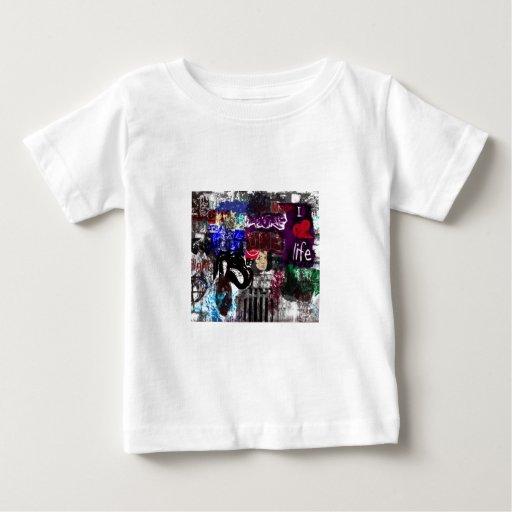 Camiseta del niño de la vida del amor de la