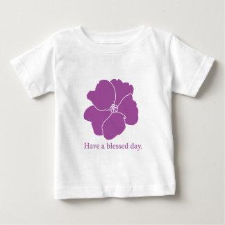 CAMISETA del NIÑO de la violeta africana Remera