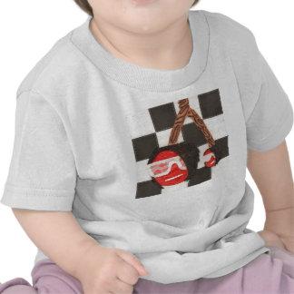 Camiseta del niño de las cerezas de Emo