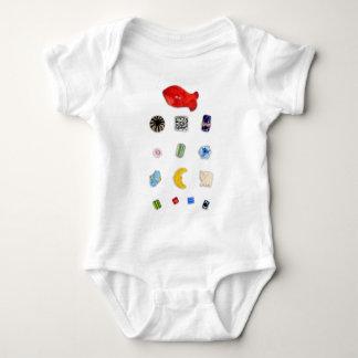 Camiseta del niño de las gotas playera