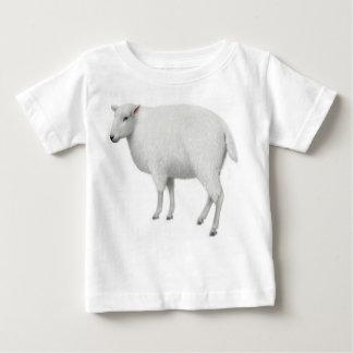 Camiseta del niño de las ovejas playera