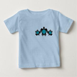 Camiseta del niño de las tortugas 2-Sided del ojo