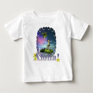 Camiseta del niño de Loihi Playera Para Bebé
