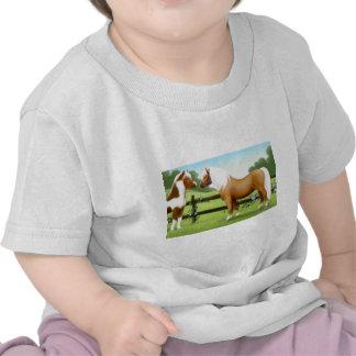 Camiseta del niño de los amigos del caballo