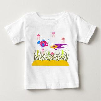 Camiseta del niño de los amigos del océano polera