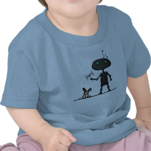Camiseta del niño de los oídos de conejo