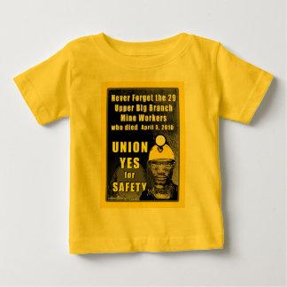 Camiseta del niño de los trabajadores de mina poleras