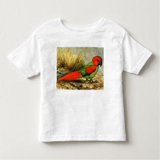 Camiseta del niño de Necropsittacus Borbonicus