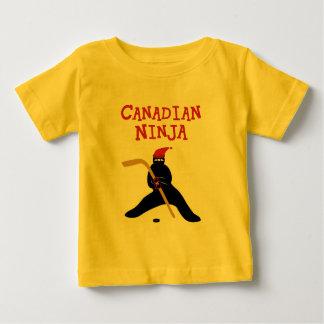 Camiseta del niño de Ninja del canadiense Playeras