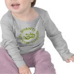 Camiseta del niño de OM Shanti Shanti Shanti