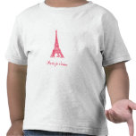 Camiseta del niño de París