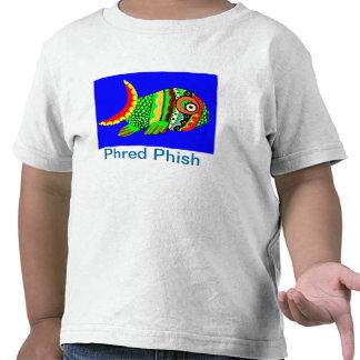 Camiseta del niño de Phred Phish