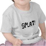 Camiseta del niño de Splat