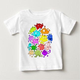 Camiseta del niño de Splats de la tinta Polera