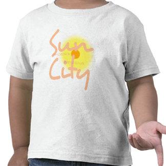 Camiseta del niño de Sun City 2