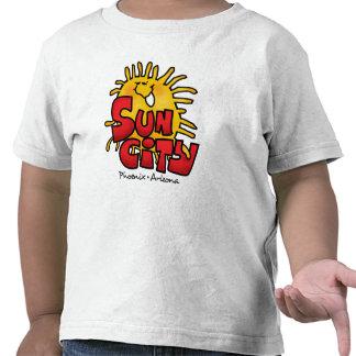 Camiseta del niño de Sun City 3