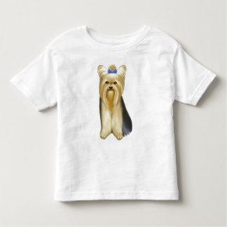 Camiseta del niño de Yorkie