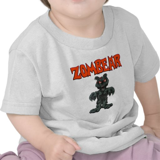 CAMISETA del NIÑO de ZombieZ ZOMBEAR