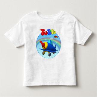 Camiseta del niño del aeroplano de TuTiTu Playera