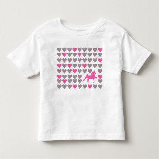 Camiseta del niño del amante de Lil Saddlebred Playeras