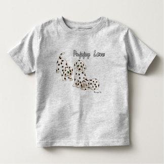 Camiseta del niño del amor adolescente