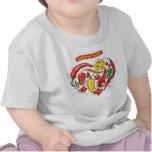 Camiseta del niño del amor de Burnin