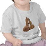 Camiseta del niño del amor de la alpaca