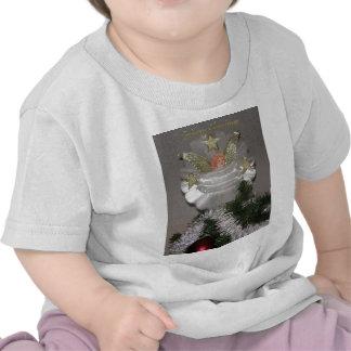Camiseta del niño del ángel del navidad