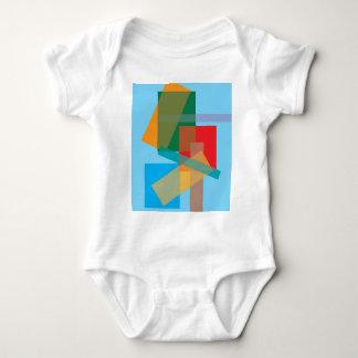 Camiseta del niño del arte moderno polera